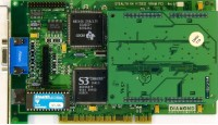 (337) Diamond Stealth 64 Video VRAM rev.D7