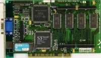 (348) Diamond Stealth 64 Video VRAM rev.B