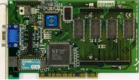 (349) Diamond Stealth 64 Video VRAM rev.D