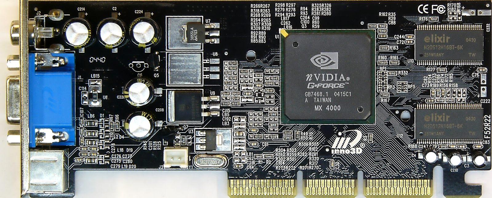 pilote carte graphique nvidia geforce4 mx 4000