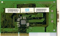 (437) QDI Legend VGA V2200 AGP/3D