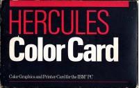 Hercules Color Card box