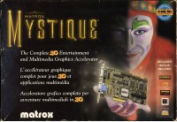 Matrox Mystique box