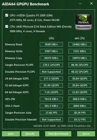 Quadro FX 1800 GPGPU