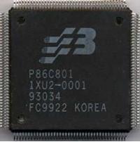 P86C801 chip