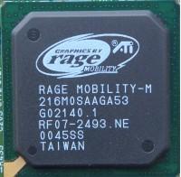 ATI Rage Mobility-M GPU