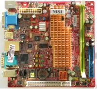 MSI Axis 700 miniITX